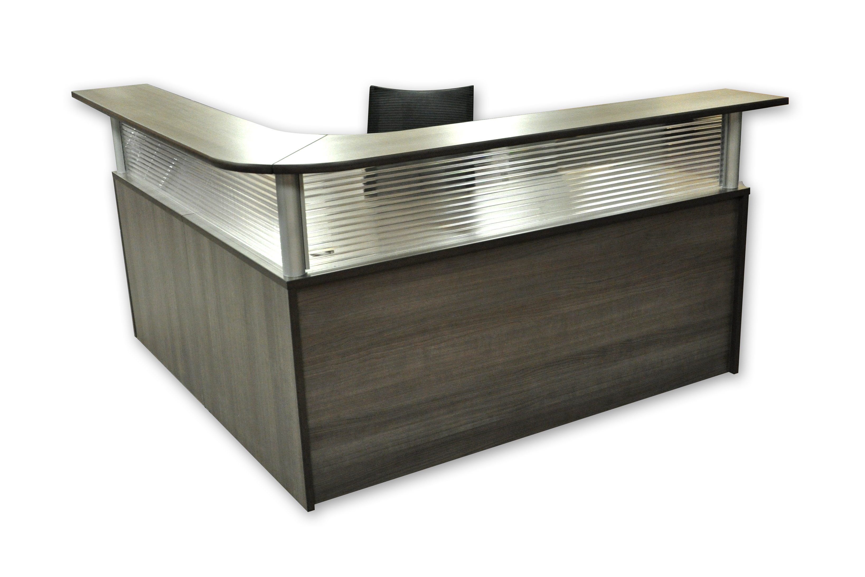Reception Desk Plexi Front Office Furniture Podanys