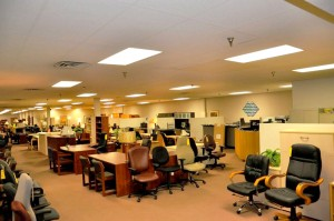 podany's office furniture showroom - milwaukee, wi