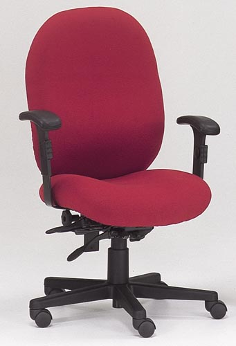 Home Office Red Ergonomic Chair