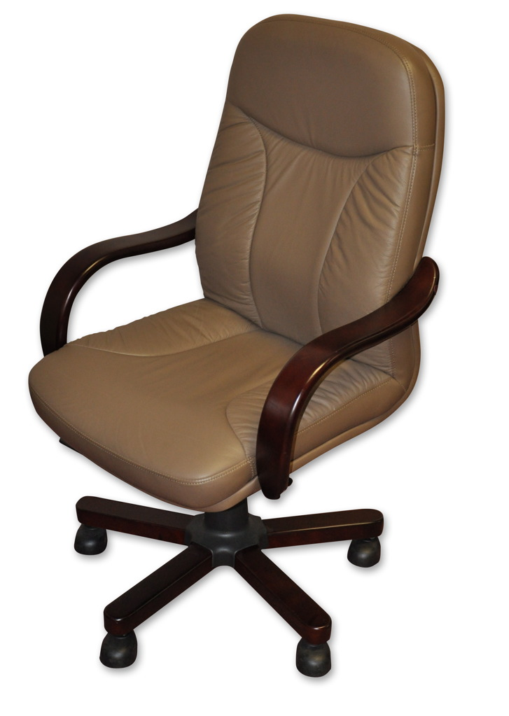 Economical Leather Desk Chair
