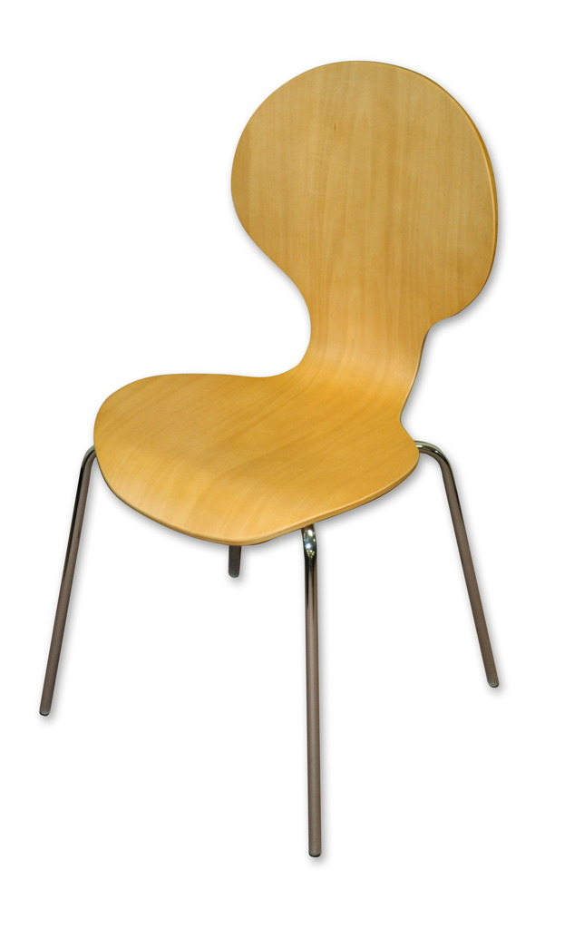 Wooden stack chair