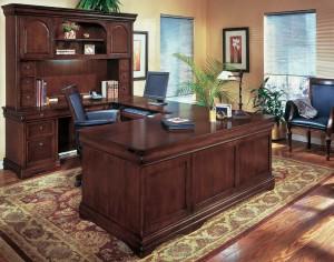 Old World Feel Office Desk