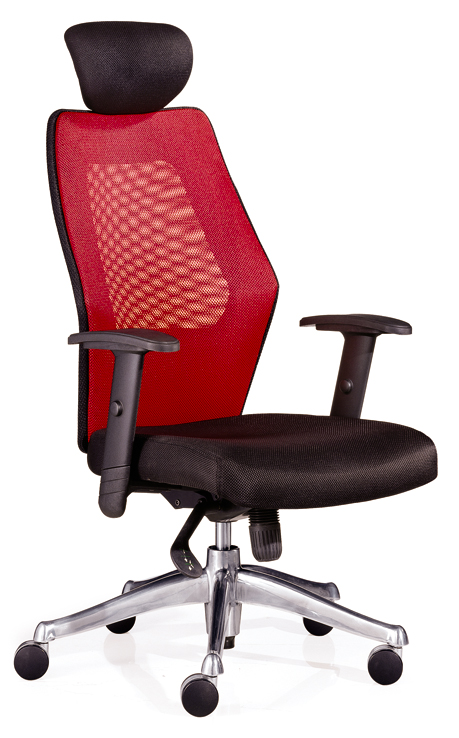 Red Mesh Executive Chair