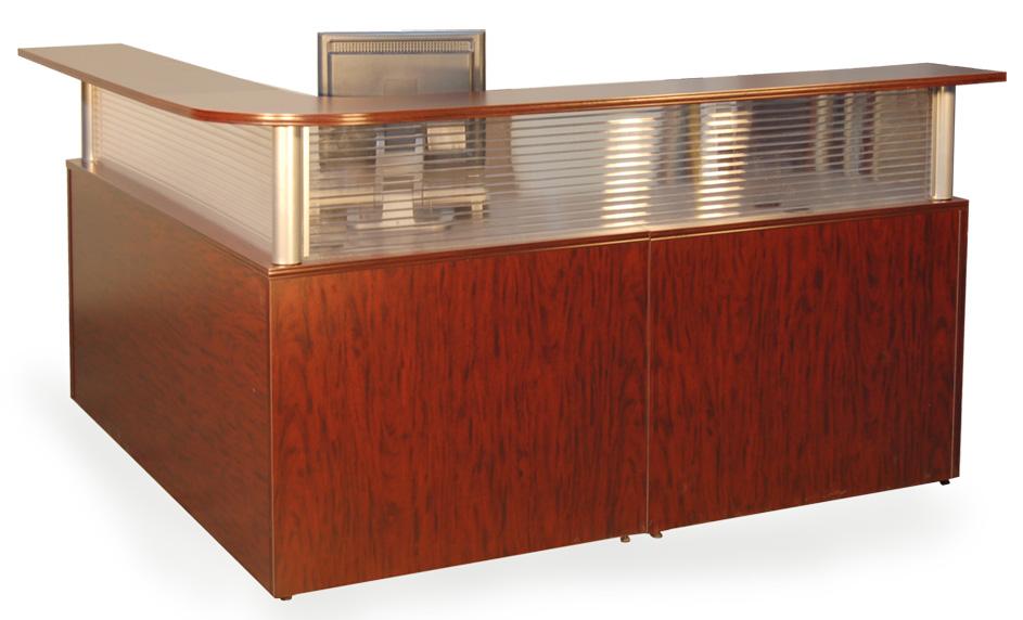 Reception Desk Plexi-Front