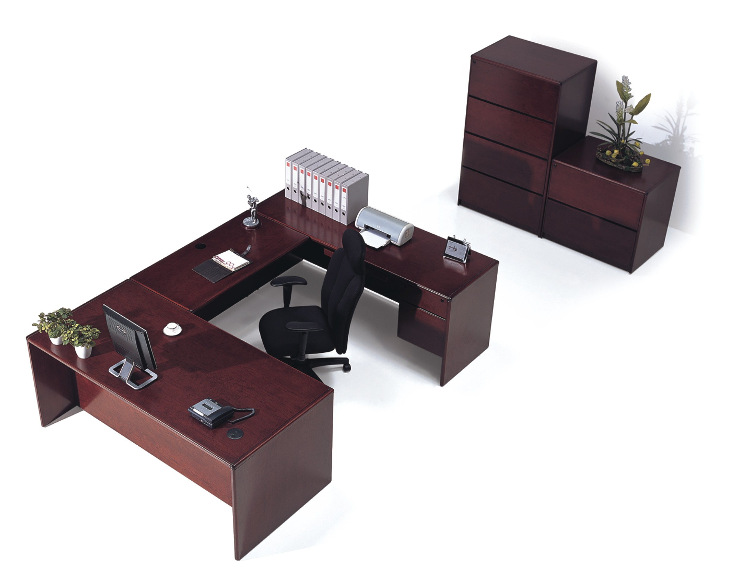 euro executive ushape desk