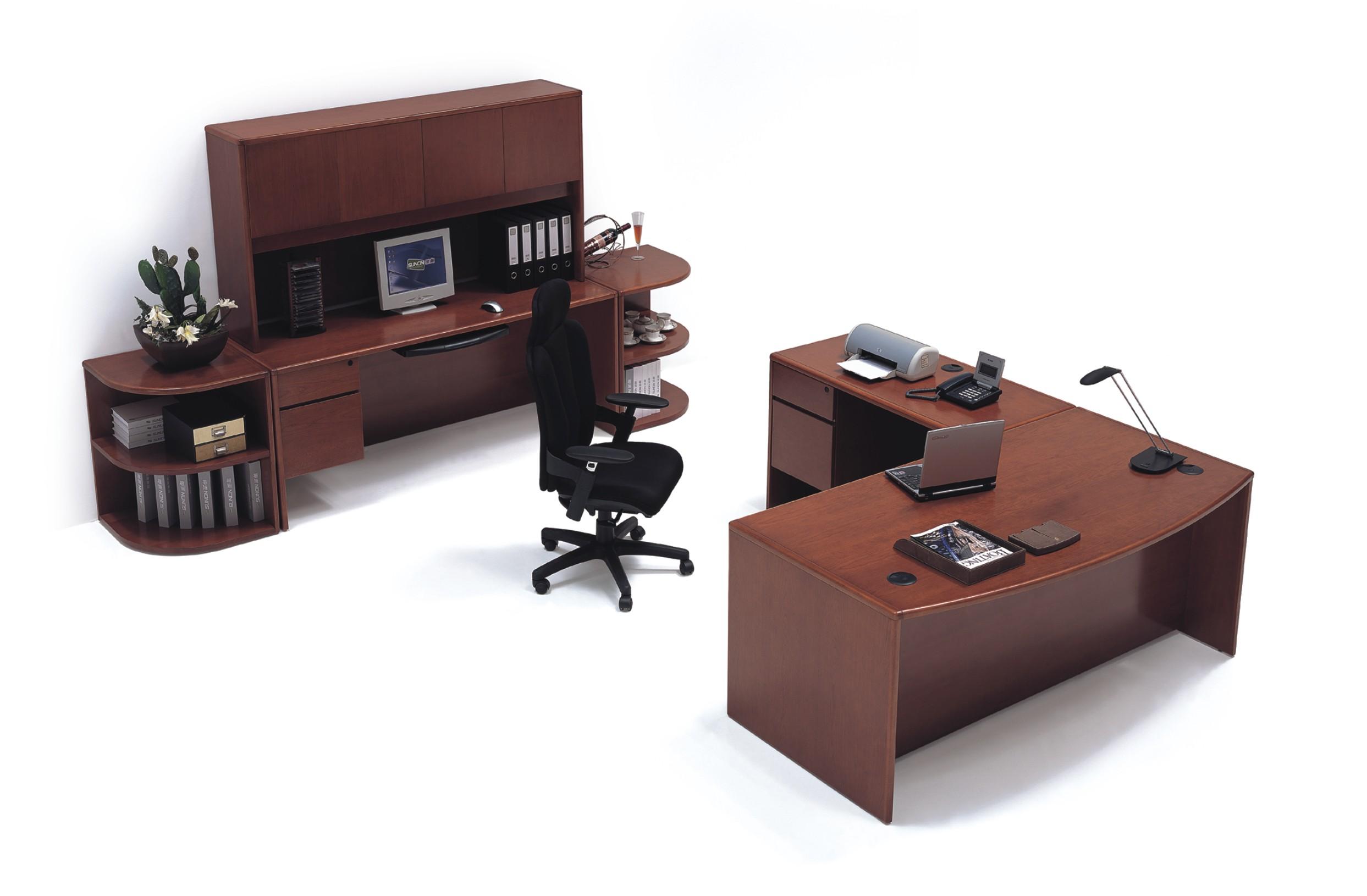 Steelcraft Radius Edge Office Desk