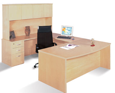 Office Furniture Light Wood