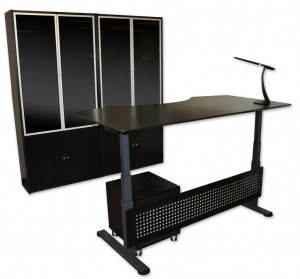 Sit / Stand Desk Black