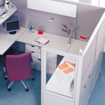 Cubicle Workstations White
