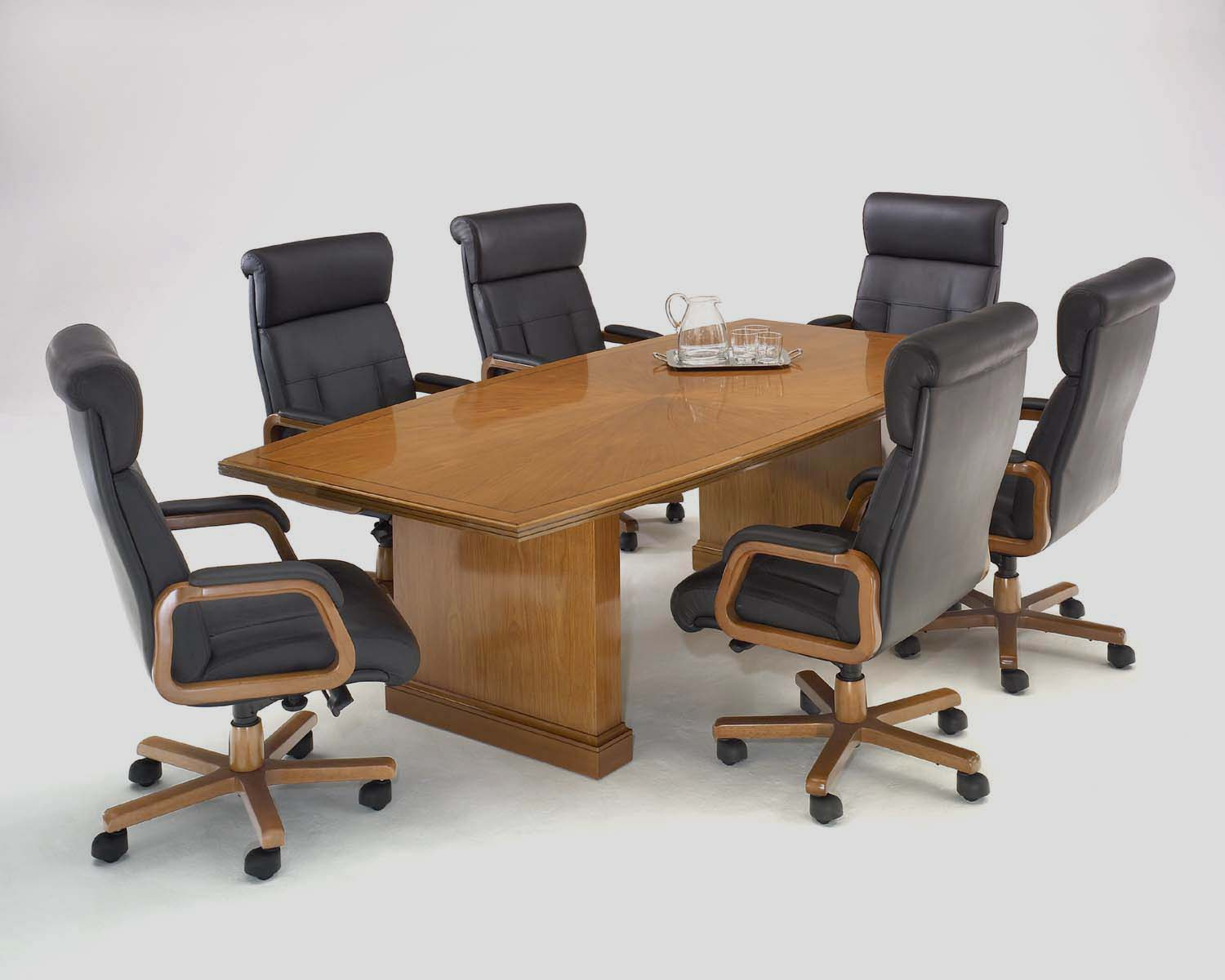 Sunset Cherry Conference Table