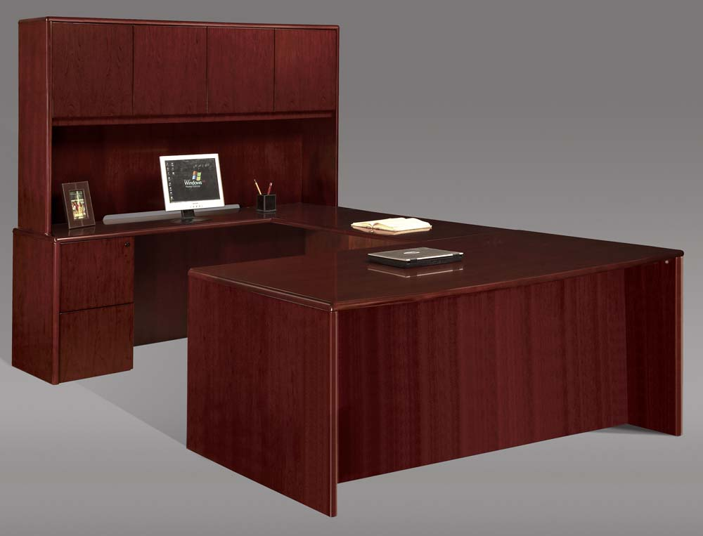Steelcraft Radius Edge Office Desk