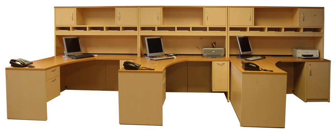 Modular Concepts Shared Work Desks