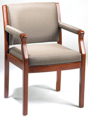 Traditional Frame Side Chair in Beige