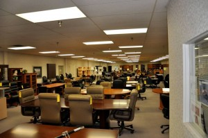 Minneapolis Office Furniture Showroom at Podany's