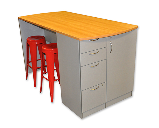 Custom Stand Up Meeting Table With Storage Podanys - Stand up meeting table